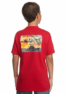 Guy Harvey Short Sleeve Cruisin Tee Boys 8-20
