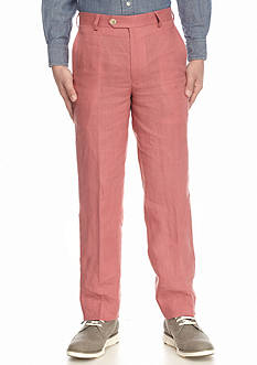 Lauren Ralph Lauren Red Linen Pants Boys 8-20