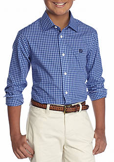 Ralph Lauren Childrenswear Check Plaid Button-Front Shirt Boys 8-20
