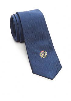 Lauren Ralph Lauren Solid Logo Embroidered Tie Boys 8-20