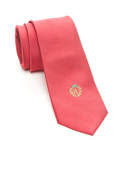 Polo Ralph Lauren Solid Logo Embroidered Tie Boys 4-20