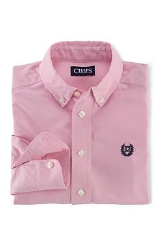 Chaps Long Sleeve Basic Oxford Shirt Boys 4-7