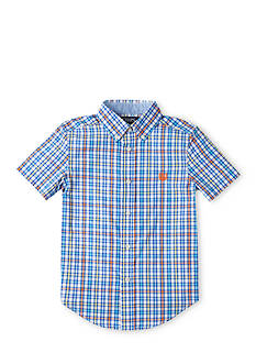 Chaps Checked Button-Down Shirt Boys 4-7