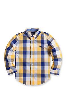 Chaps Checked Poplin Shirt Boys 4-7