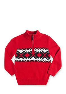 Chaps Novelty Quarter Zip Sweater Boys 4-7