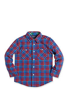 Chaps Plaid Flannel Shirt Boys 4-7