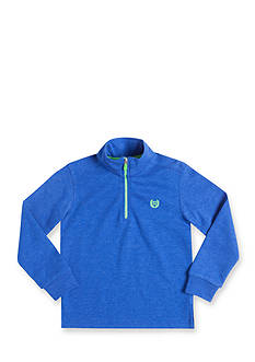 Chaps Long Sleeve Quarter Zip-Up Fleece Pullover Boys 4-7