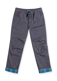 Chaps Plaid Cuff Pants Boys 4-7