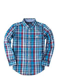 Chaps Plaid Oxford Shirt Boys 8-20