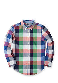 Chaps Buffalo Plaid Oxford Shirt Boys 8-20