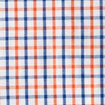 Boys Hoodies: Orange Chaps Tattersall Poplin Shirt Boys 8-20