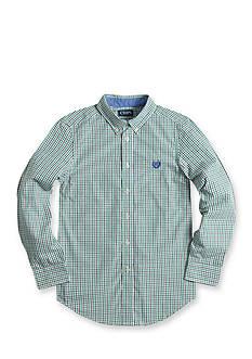 Chaps Tattersall Poplin Shirt Boys 8-20