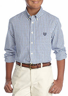 Chaps Easy Care Button Down Shirt Boys 8-20