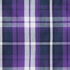 Boys Button Down Shirts: Purple Chaps Plaid Poplin Shirt Boys 8-20