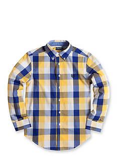 Chaps Checked Poplin Shirt Boys 8-20
