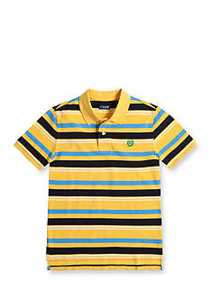 Chaps Multi-Striped Pique Polo Shirt Boys 8-20