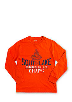 Chaps Long-Sleeve Graphic Tee Boys 8-20