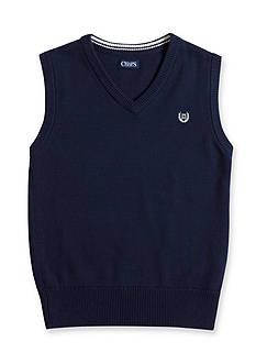 Chaps Navy Sweater Vest Boys 8-20