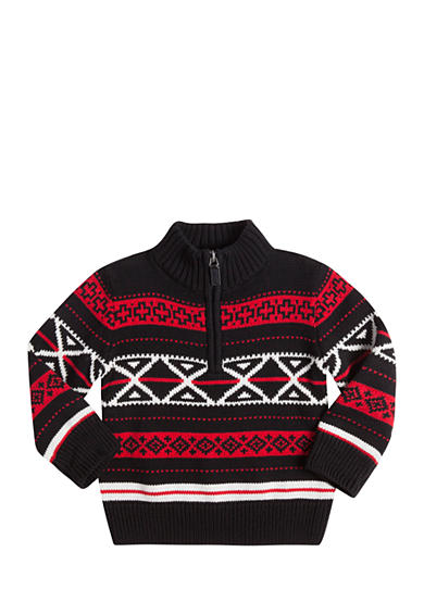 Chaps Novelty Quarter Zip Sweater Boys 8-20