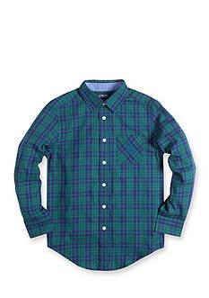Chaps Woven Plaid Shirt Boys 8-20