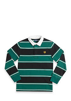 Chaps Striped Rugby Polo Boys 8-20