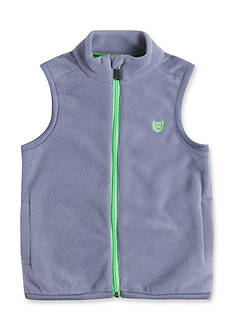 Chaps Fleece Zip Vest Boys 8-20