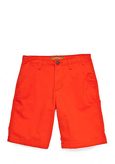Red Camel® Flat Front Stretch Shorts Boys 8-20