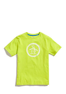 Penguin Short Sleeve Circle Logo Tee Boys 8-20