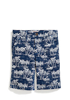 Penguin Printed Flat Front Shorts Boys 8-20
