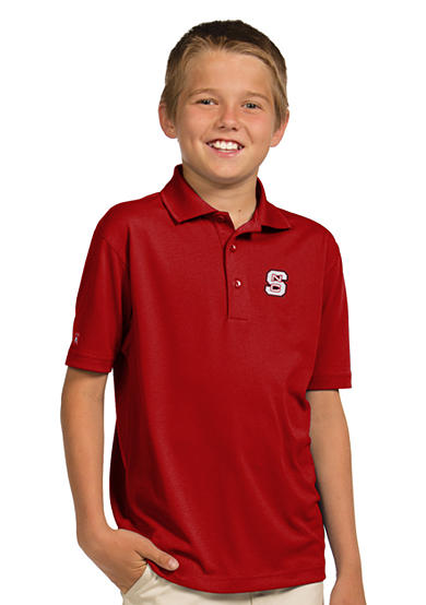 Antigua® NC State Wolfpack Pique Xtra Lite Polo Boys 8-20