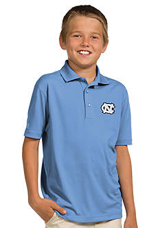 Antigua UNC Tar Heels Pique Xtra Lite Polo Boys 8-20