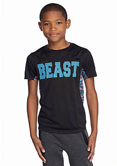 JK Tech™ Short Sleeve Pieced 'Beast' Tee Boys 8-20