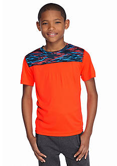 JK Tech™ Short Sleeve Print Yoke Tee Boys 8-20