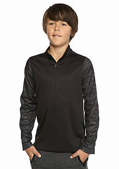JK Tech™ 1/4 Zip Pieced Pullover Boys 8-20