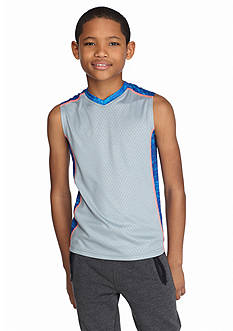 JK Tech™ Embossed Muscle Tank Boys 8-20