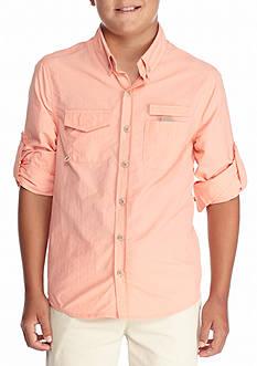 JK Tech Fishing Shirt Boys 8-20