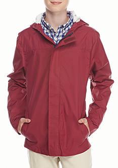 J. Khaki Windbreaker Rain Jacket Boys 8-20