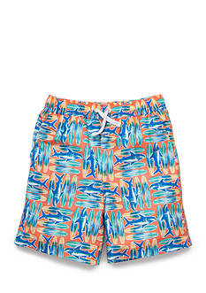 J. Khaki Swim Trunks Boys 4-7