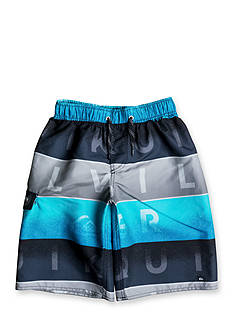 Quiksilver™ Word Blocked Volley Shorts Boys 4-7