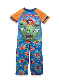 Angry Birds 2-Piece 'Red Alert' Charcter Pajama Set Boys 4-20