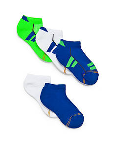 Gold Toe® 6-Pack Color Block Sport Liner Socks  Boys 8-20