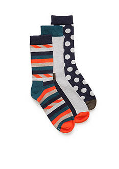 Happy Socks® 3-Pair Pack Ankle Socks Boys