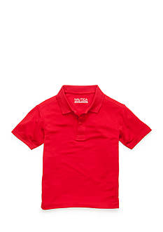 Nautica Uniform Active Polo Boys 4-7