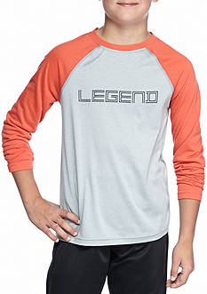 JK Tech 'Legend' Raglan Long Sleeve Tee Boys 8-20