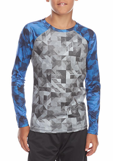 JK Tech® Printed Raglan Shirt Boys 8-20
