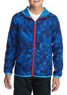 JK Tech™ Rip-Stop Zip Windbreaker Boys 8-20