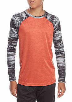 JK Tech™ Spaced-Dye Raglan Shirt Boys 8-20