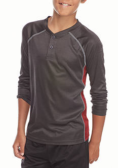 JK Tech™ Space Dye Henley Shirt Boys 8-20