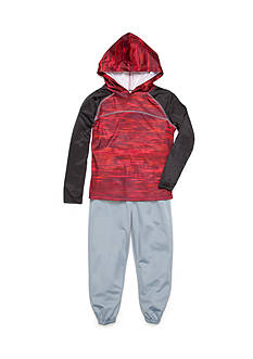 JK Tech Hoodie Fleece Jogger Pants Set Boys 4-7