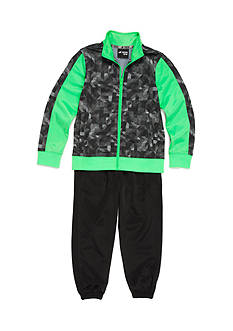 JK Tech Jacket and Jogger Pants Set Boys 4-7
